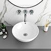 Viva Round Counter Top Basin 0TH - 430mm Diameter profile small image view 1