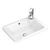 Havana Inset Basin 1TH - 550 x 400mm profile small image view 1