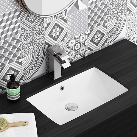 Fresco Rectangular Under Counter Basin 0TH - 530 x 345mm