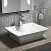 Riviera Counter Top Basin 1TH - 490 x 390mm profile small image view 1