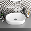 Nouvelle Counter Top Basin 0TH - 510 x 320mm profile small image view 1