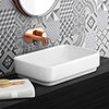 Miami Counter Top Basin 0TH - 550 x 350mm profile small image view 1
