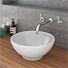 Runda Round Counter Top Basin 0TH - 380mm Diameter profile small image view 1