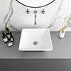Lazio Square Counter Top Basin - 0TH - 410 x 410mm profile small image view 1
