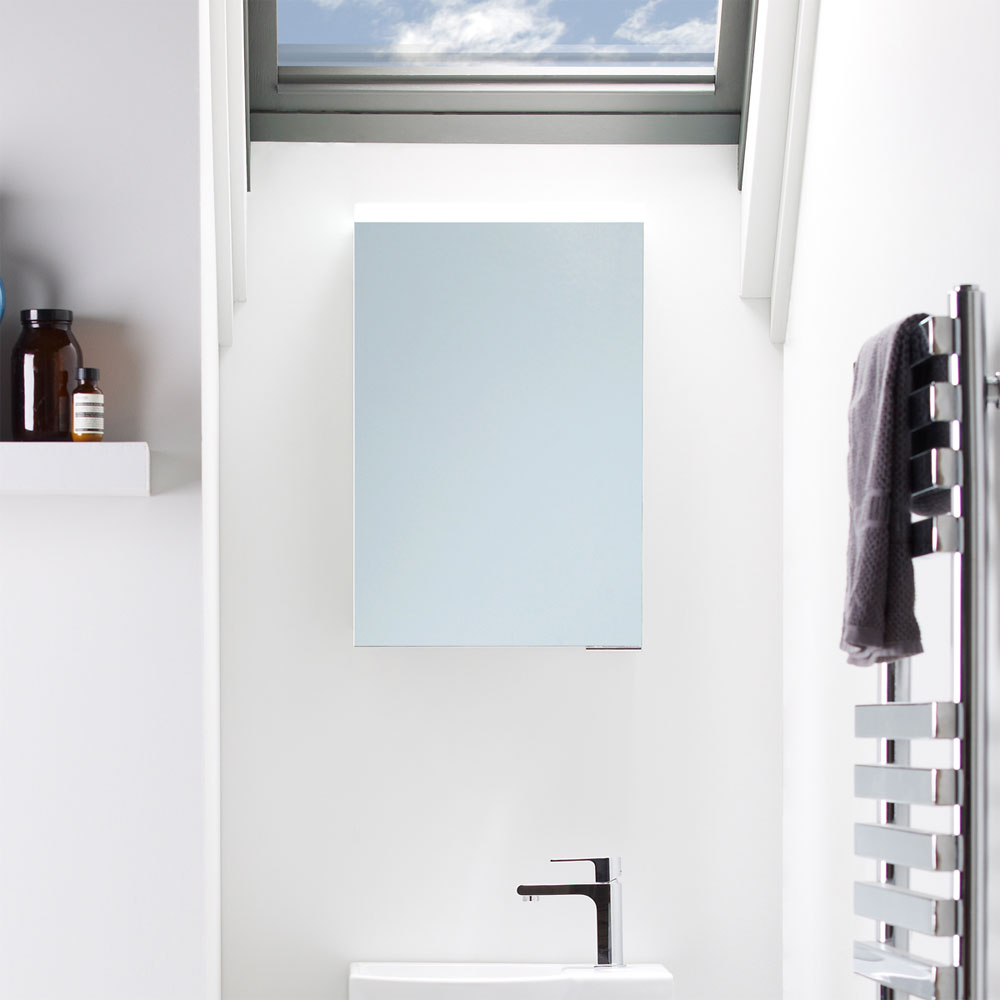 Roper Rhodes Viper Illuminated Mirror Cabinet - VI40AL profile large image view 4