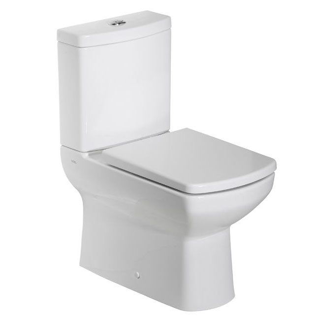 Tavistock Vibe Fully Enclosed Close Coupled WC & Soft Close Seat Large Image