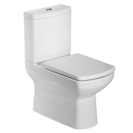 Tavistock Vibe Fully Enclosed Close Coupled WC & Soft Close Seat