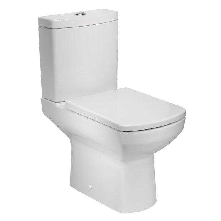 Tavistock Vibe Open Back Close Coupled WC & Soft Close Seat Large Image
