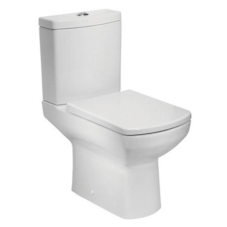Tavistock Vibe Open Back Close Coupled WC & Soft Close Seat