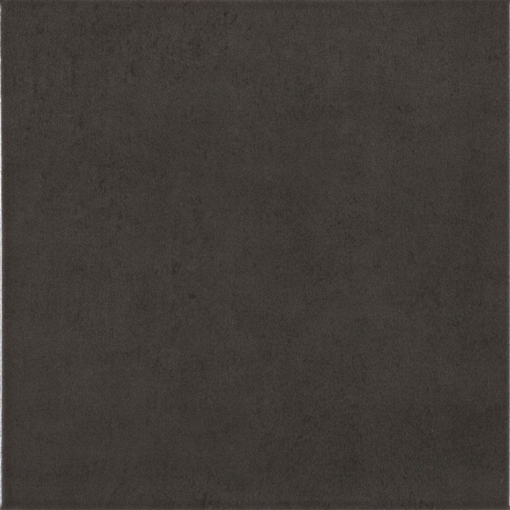 Vibe Black Wall and Floor Tiles - 223 x 223mm Large Image