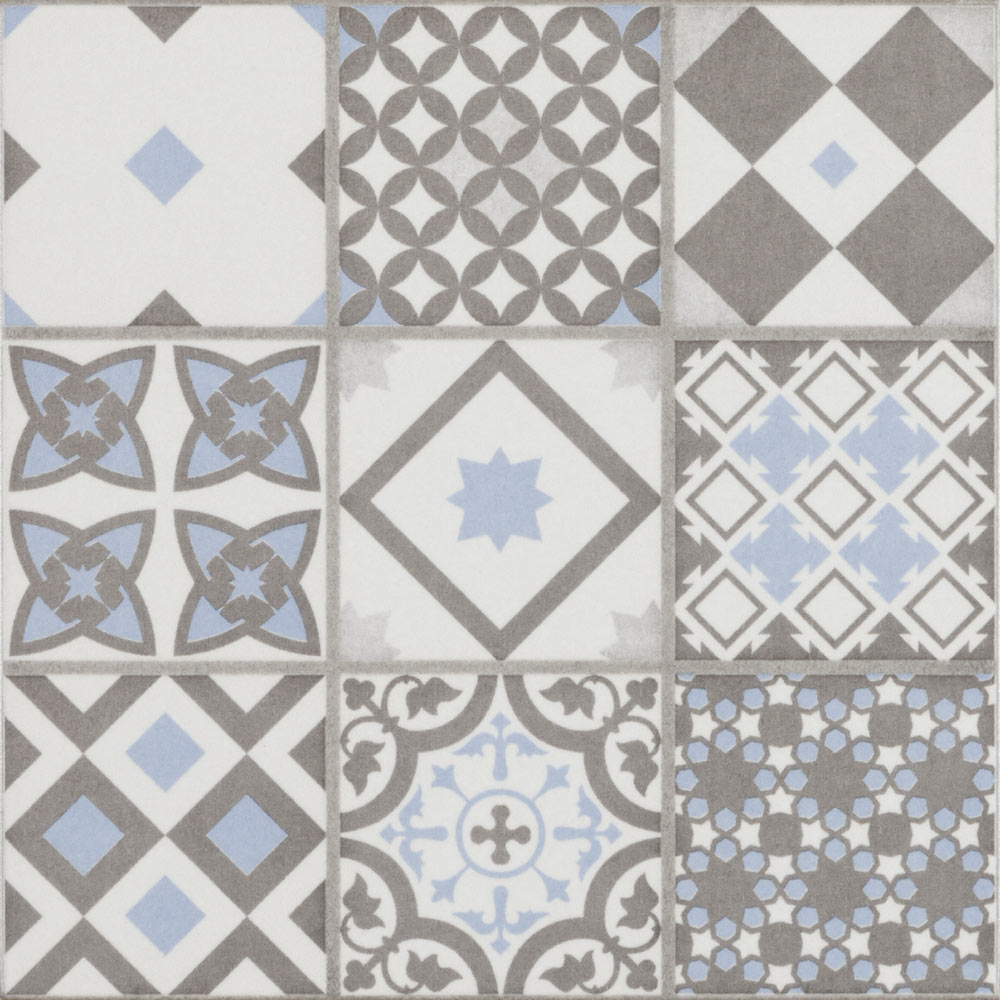 Vibe light blue mosaic patterned wall and floor tiles 223 x 223mm vibe light blue mosaic patterned wall and floor tiles 223 x 223mm large image dailygadgetfo Image collections