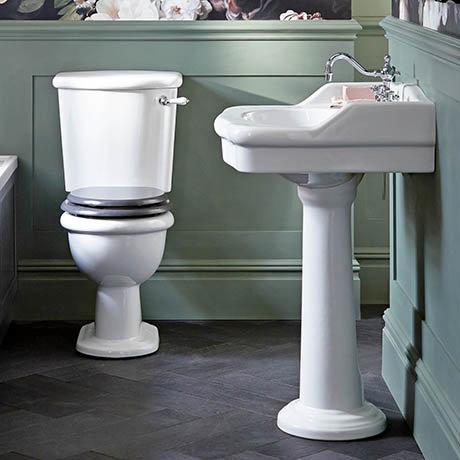 Heritage Victoria Traditional 4-Piece Bathroom Suite