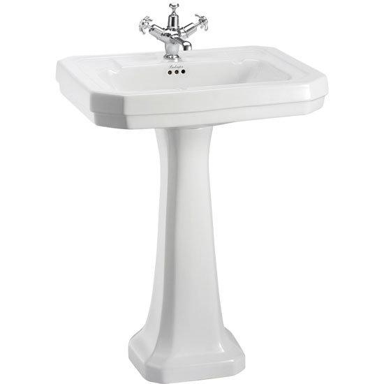 Burlington Traditional Regal 5 Piece Bathroom Suite Standard Large Image