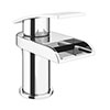 Zen Waterfall Cloakroom Mono Basin Mixer + Waste profile small image view 1