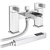 Edge Waterfall Bath Shower Mixer + Shower Kit Small Image