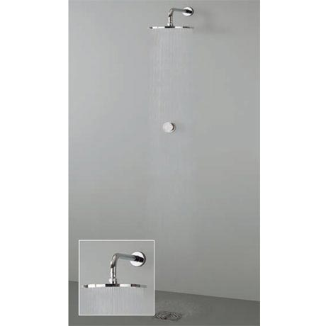 Crosswater Digital Virage Solo with Wall Mounted Fixed Shower Head