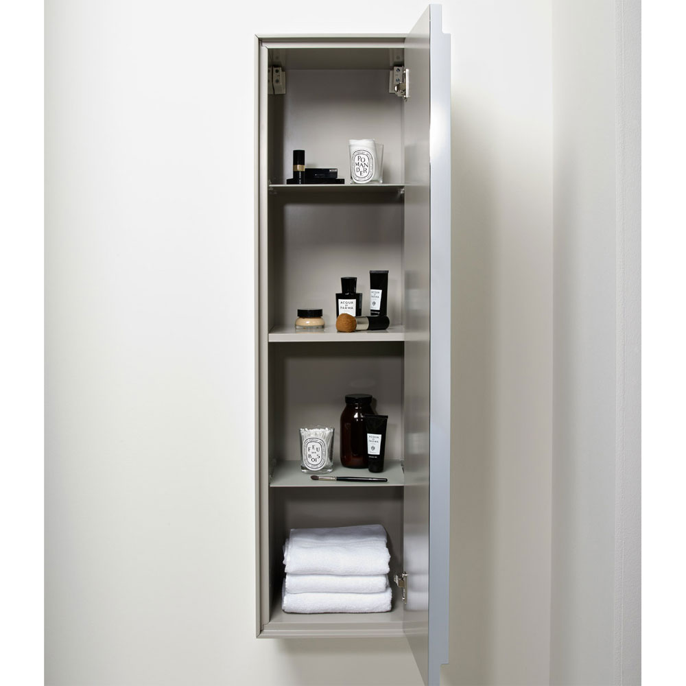 Roper Rhodes Vista 330mm Storage Unit - White/Dark Elm profile large image view 2