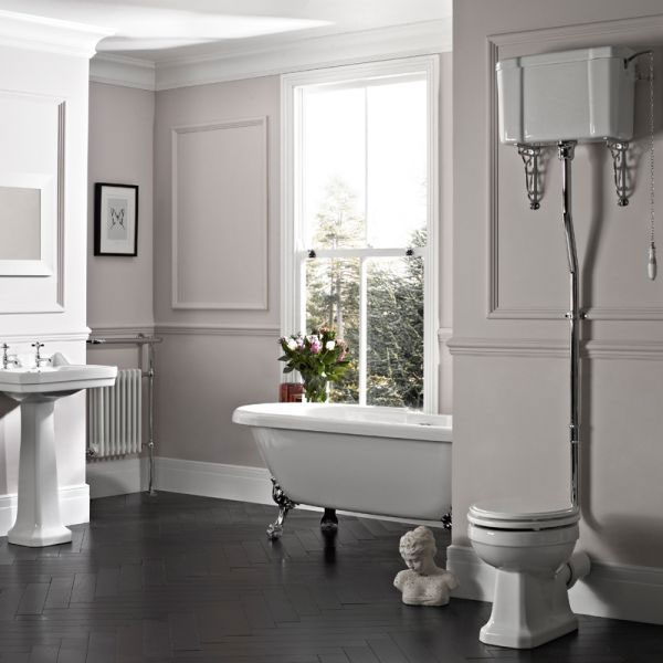 Tavistock Vitoria Traditional High Level Toilet Profile Large Image