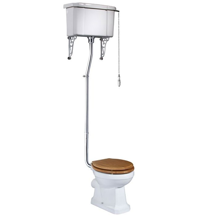 Tavistock Vitoria Traditional High Level Toilet Large Image