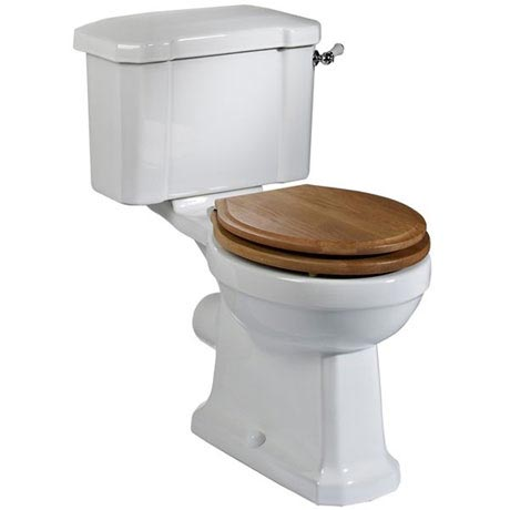 Tavistock Vitoria Traditional Close Coupled Toilet