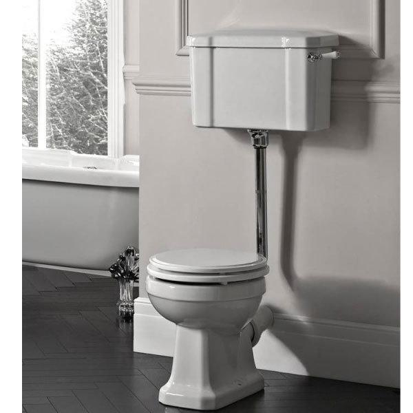 Tavistock Vitoria Traditional Low Level Toilet Feature Large Image