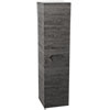 Vision 1400mm Grey Oak Wall Hung Tall Storage Unit Small Image
