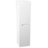 Vision 1400mm Gloss White Wall Hung Tall Storage Unit Small Image