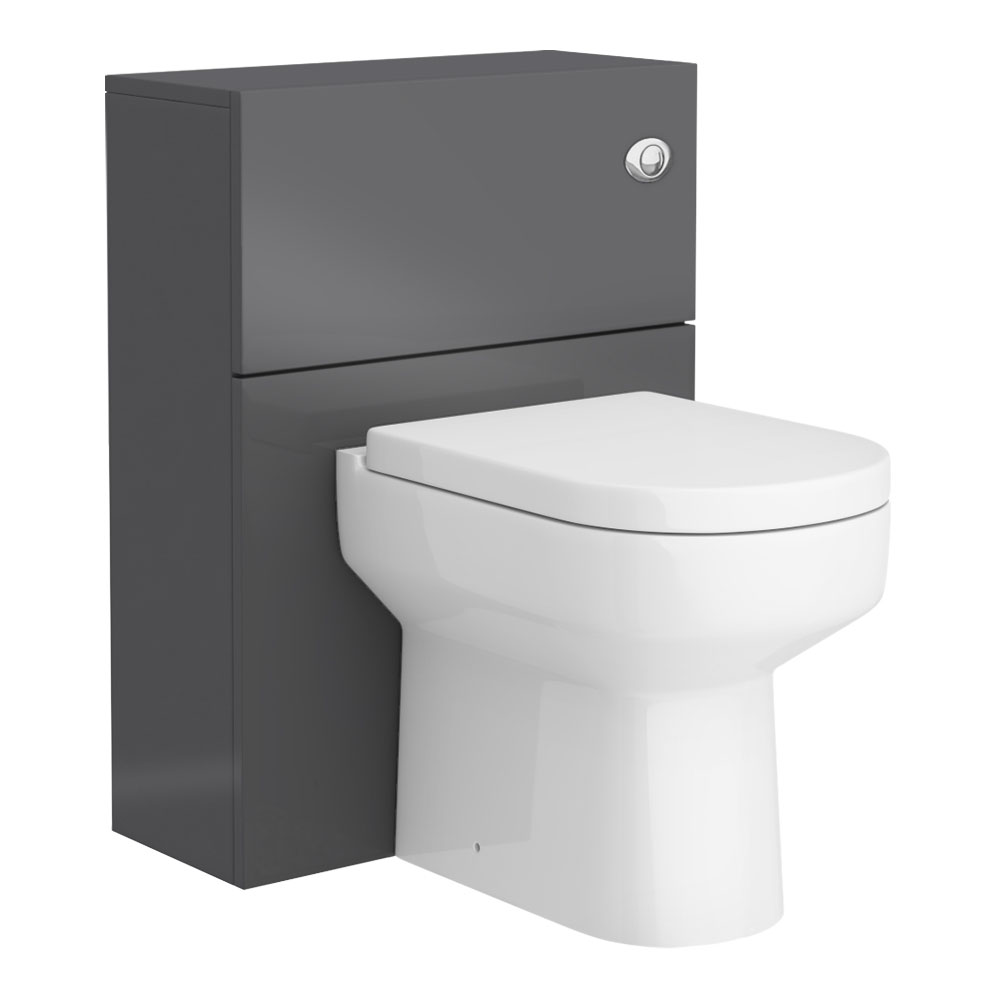 Apollo2 600mm Gloss Grey WC Unit Only