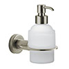 Venice Brushed Nickel Wall Mounted Soap Dispenser profile small image view 1