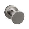 Venice Brushed Nickel Robe Hook profile small image view 1