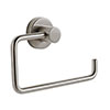 Venice Brushed Nickel Toilet Roll Holder profile small image view 1