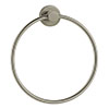 Venice Brushed Nickel Towel Ring profile small image view 1