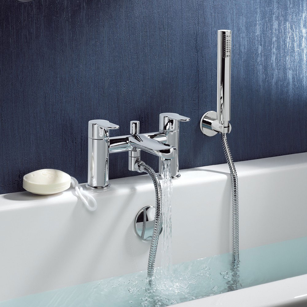 Crosswater - Voyager Bath Shower Mixer with Kit - VO422DC profile large image view 2