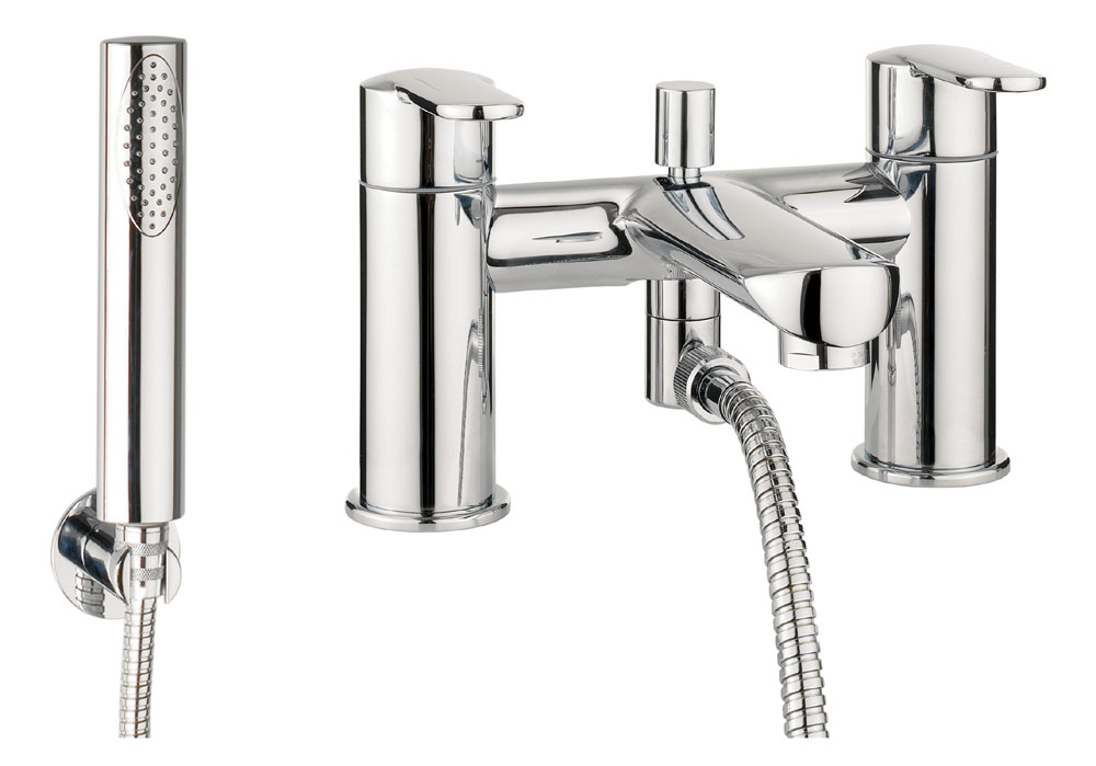 Crosswater - Voyager Bath Shower Mixer with Kit - VO422DC Large Image
