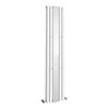 Metro Vertical Radiator with Mirror - White - Double Panel (H1800 x W381mm) profile small image view 1