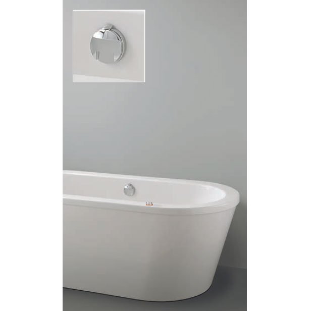 Crosswater Digital Vogue Solo with Bath Filler Waste Large Image