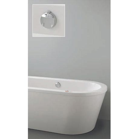 Crosswater Digital Vogue Solo with Bath Filler Waste