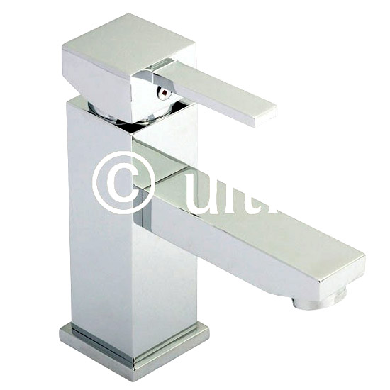 Ultra Volt Mono Basin Mixer - Chrome - VOL305 Large Image