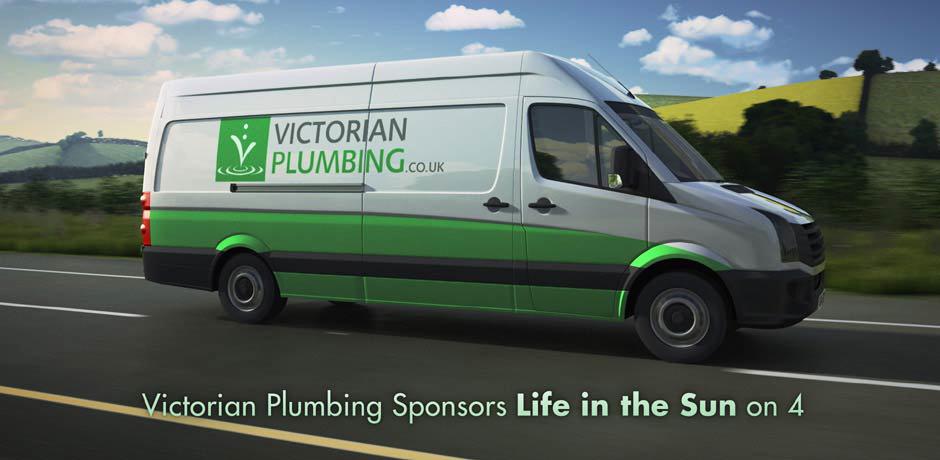 Victorian Plumbing Sponsors Channel 4 TV Programmes