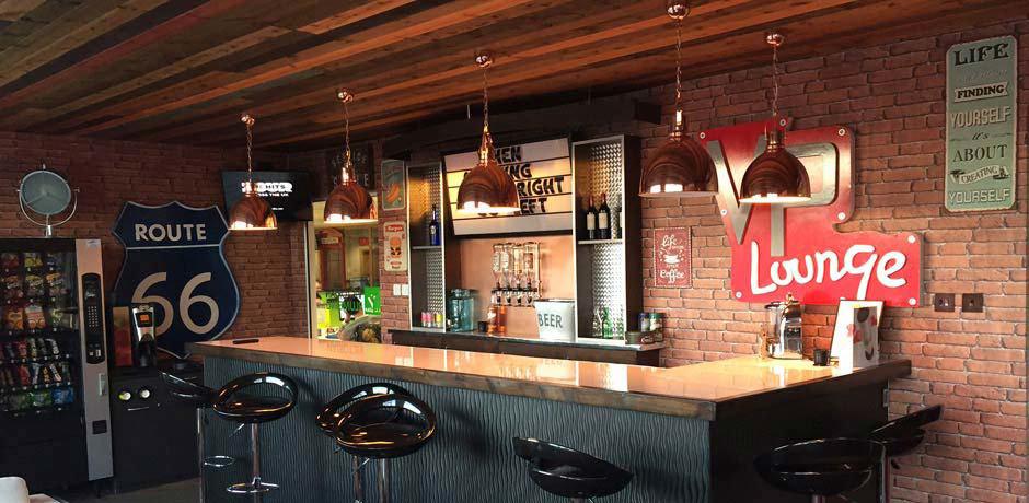 VP Lounge bar area