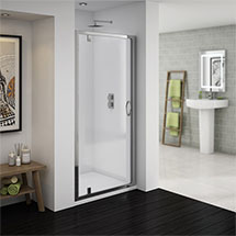 Newark Pivot Shower Door - Various Sizes Medium Image