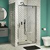 Newark Pivot Shower Door - Various Sizes profile small image view 1