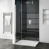 Orion Black Diamond Galaxy 2400x1000x10mm PVC Shower Wall Panel Small Image