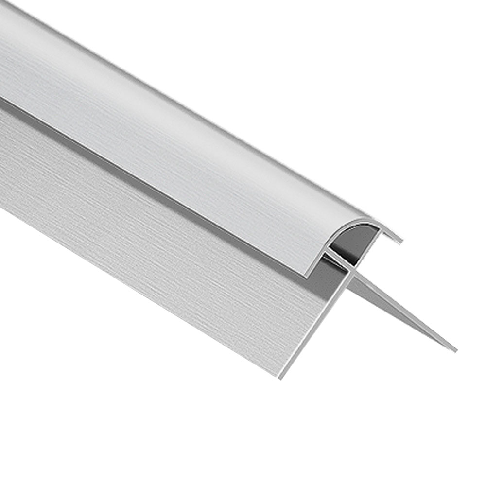 Orion External Corner - Satin Aluminium