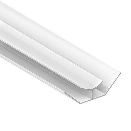 Orion Internal Corner - White PVC