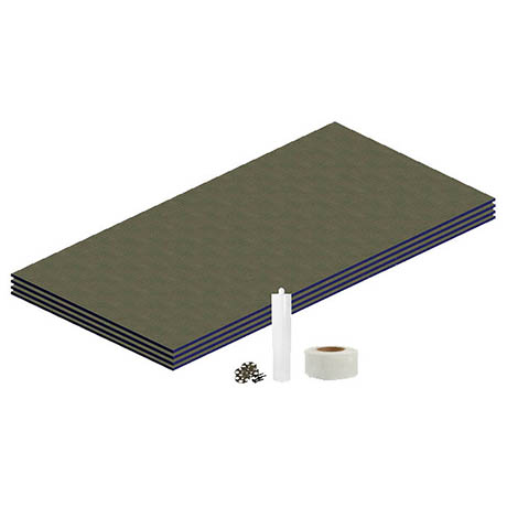 Orion Wetroom Tile Backer Board Floor Kit
