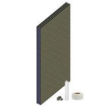 Orion Wetroom Tile Backer Board Wall Kit