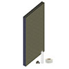 Orion Wetroom Tile Backer Board Wall Kit profile small image view 1