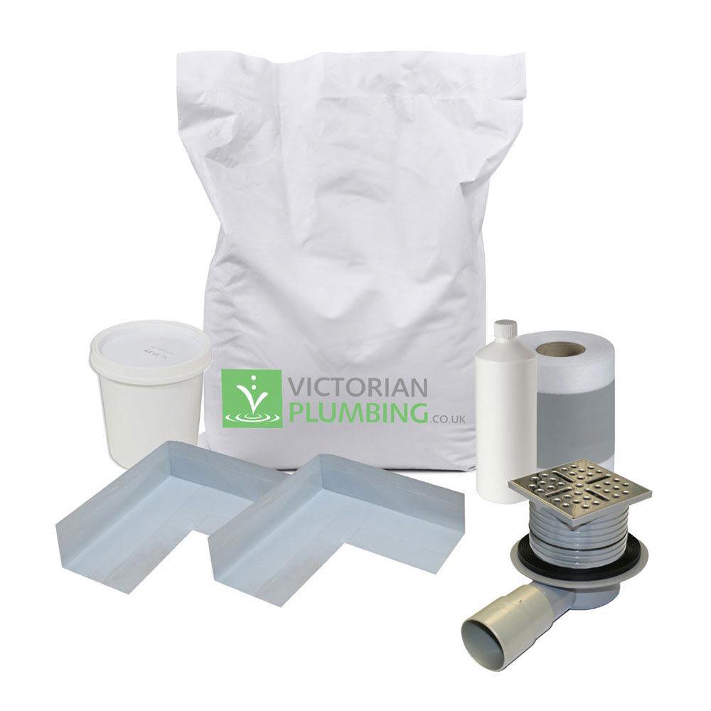Orion Shower Waste & Wetroom Installation Kit profile large image view 1