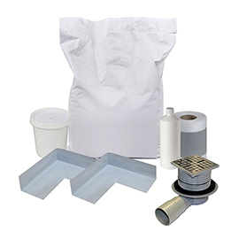 Orion Shower Waste & Wetroom Installation Kit